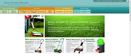 brill lawn mowers