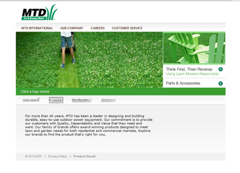 lawn mowers from MTD
